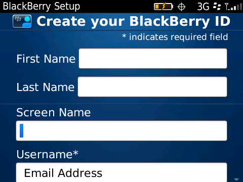 BlackBerry-ID