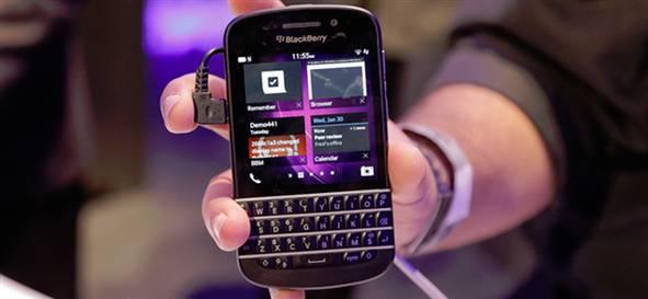Blackberry Q10 satışları