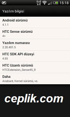 HTC Desire X HTC Sense 4+