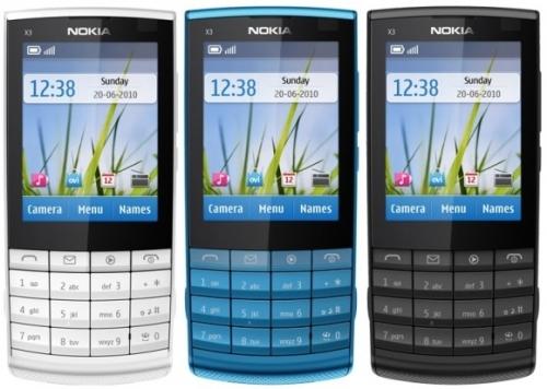 Nokia-X3-02 yazılım güncelleme
