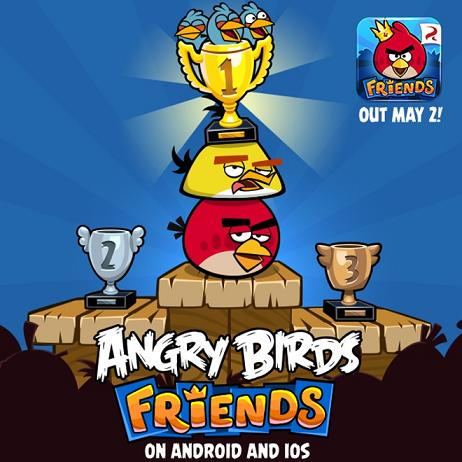 angry birds friends ios android