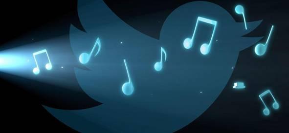 twitter müzik