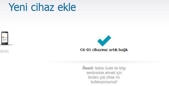 NOKIA C6-01 Yazılım Güncelleme
