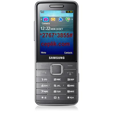 Samsung S5610 format atma