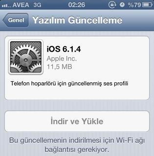 iphone 5 e yazılım yükleme