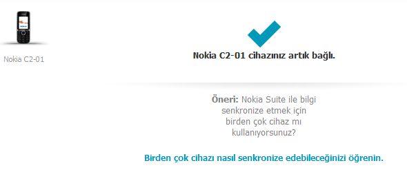 Nokia C2-01 Yazılım Güncelleme
