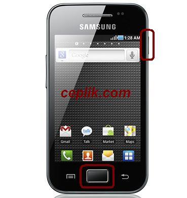 Samsung Galaxy Ace S5830 Format