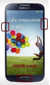 Samsung Galaxy S4 I9500 Download Mode