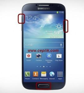 Samsung I9500 Galaxy S4 Format Atma