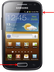 ace 2 i8160 ekran görüntüsü alma