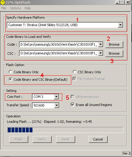 c3010s yazılım yükleme 2