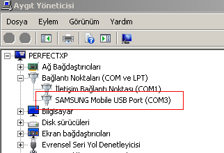 c3010s yazılım yükleme