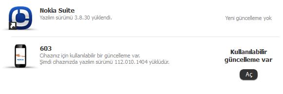 nokia 603 yazılım güncelleme 2