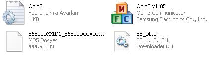 s6500 odin dosyalar