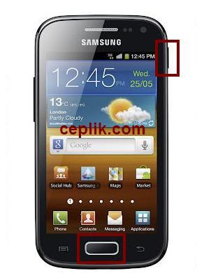 i8160 screenshot