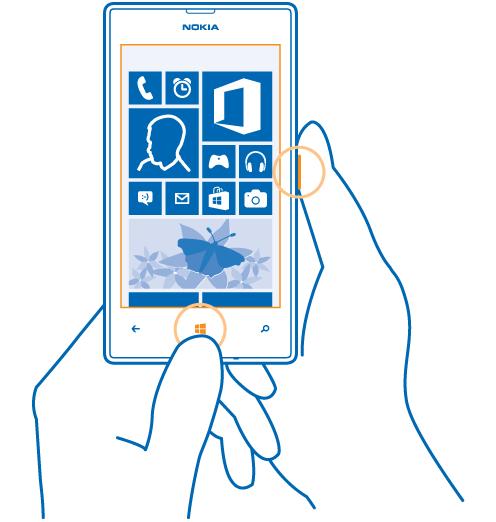 Lumia 520 ekran görüntüsü alma