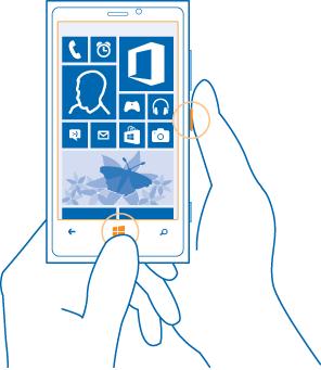 Lumia 920 ekran görüntüsü alma