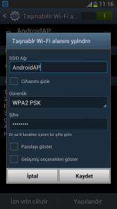 galaxy s3 i9300 modem olarak kullanma 2
