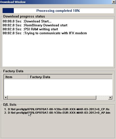 LG P970 Optimus Black format atma- yazılım yükleme 2