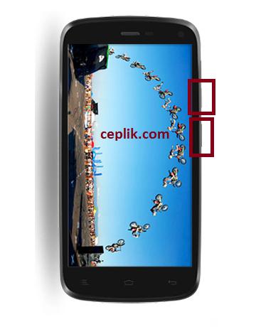 general mobile discovery ekran görüntüsü alma