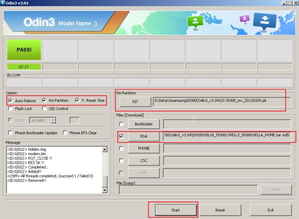 i9300 yazılım yükleme 4.1.2
