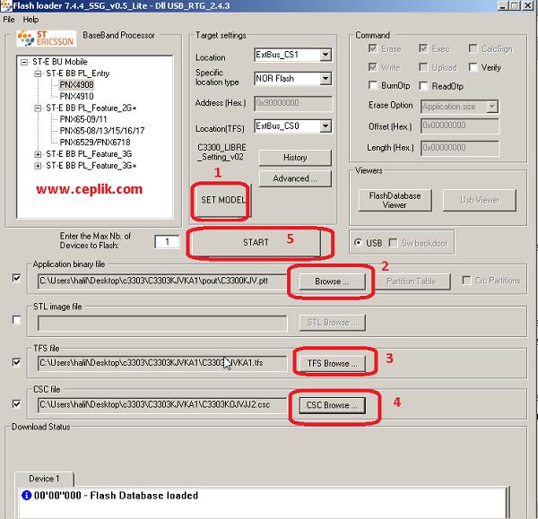 c3303k yazılım yükleme 1