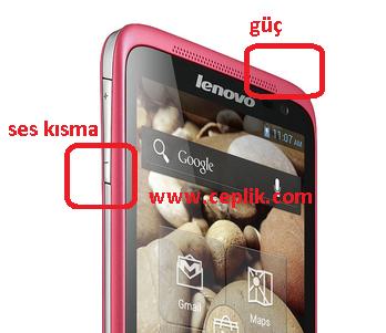 lenova s720 ekran görüntüsü kaydetme