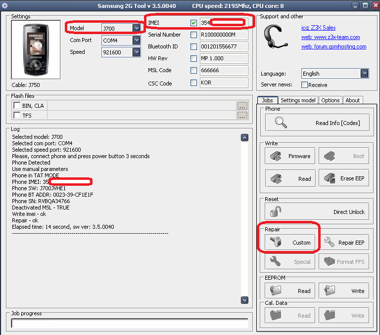 how to find the imei on samsung