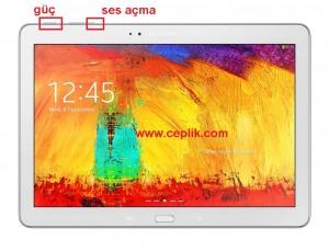 Samsung Galaxy Note 10.1 P602 format atma