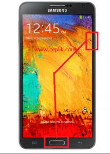 samsung n9005 galaxy note 3 ekran görüntüsü alma