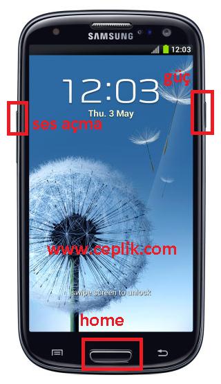 Samsung i9300i Galaxy S3 Neo şifre kırma - Ceplik.Com