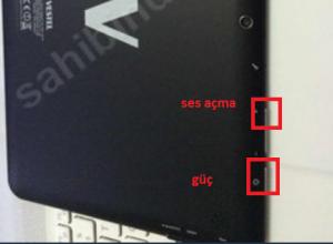 Vestel VP10 ONYX tablet format atma