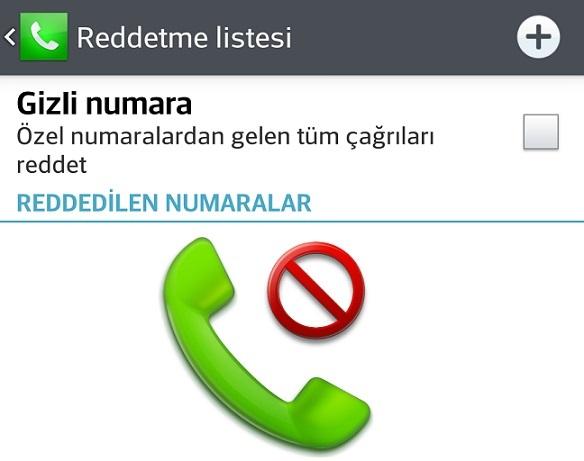 Android telefonlarda numara engelleme nasıl kaldırılır?
