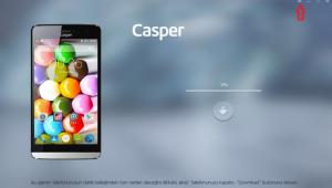 casper via v5 yazılım yükleme 6