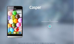casper via v5 yazılım yükleme 7