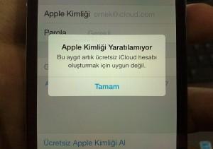 apple-kimligi-yaratılamiyor