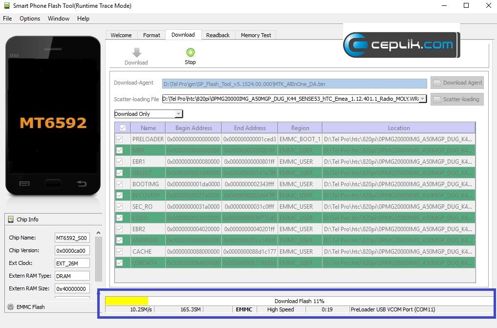 HTC Desire 820pi Yazılım Yükleme – Ceplik Com