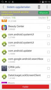 android virus temizleme