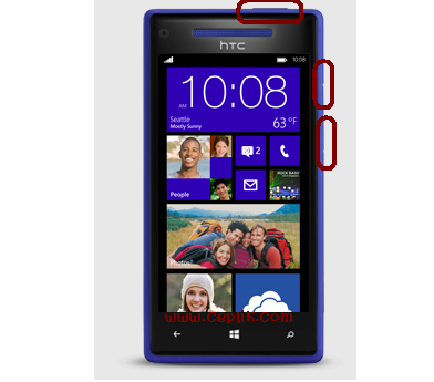 HTC Windows Phone 8X Format Atma