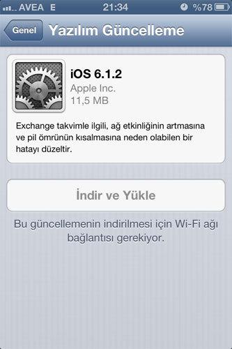 apple ios 6.1.2