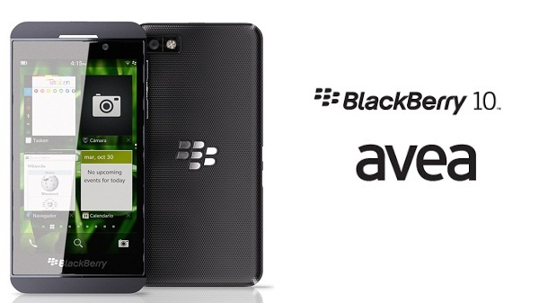 blackberry z10 avea