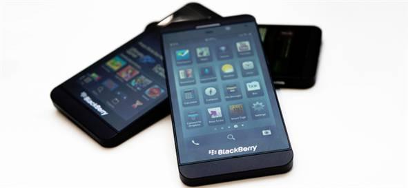 blackberry z10 satışları