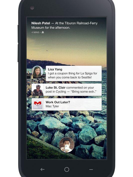 facebook home ekranı