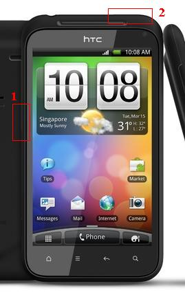 htc incredible s format atma