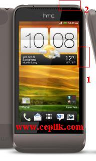 htc one v format atma