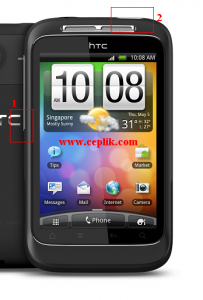 htc wildfire s format atma