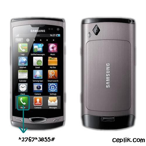 Samsung Wave 2 S8530 Format Atma – Ceplik.Com