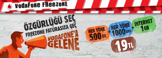 vodafone 500 dakika 1000 sms 1 gb internet